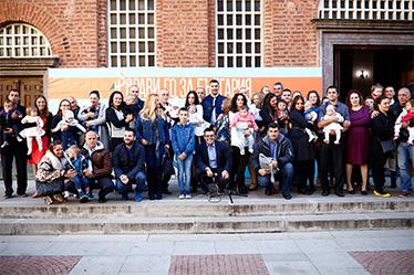 Ивентас подкрепи мащабното Национално Кръщене