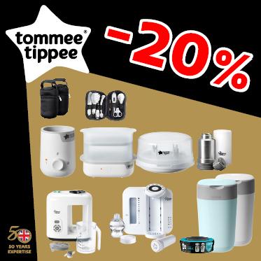 ПРОМОЦИЯ!!! 20% избрани продукти  Tommee Tippee